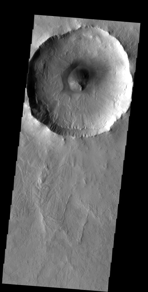 Splosh Craters on Mars
