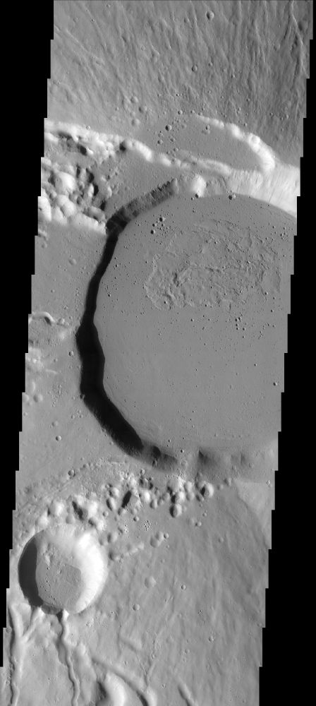 Counting the Density of Craters on Mars