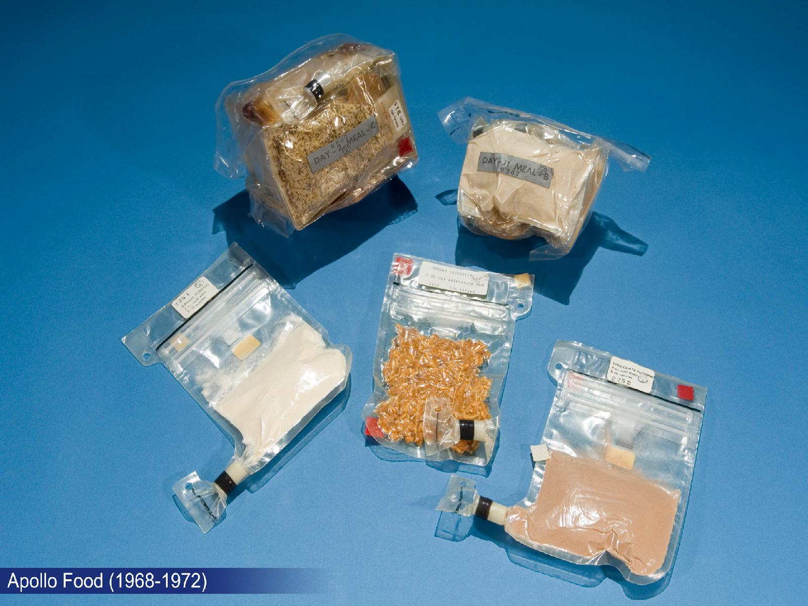 Apollo Program Food (1968 - 1972)