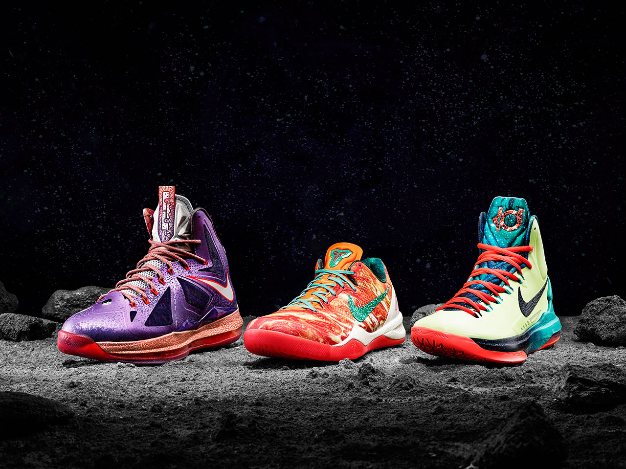 Mission Control 'Houston' Helps Launch New Nike Sneakers