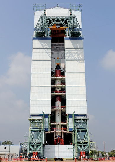 India's PSLV-C20 Rocket Completion Through Fourth Stage