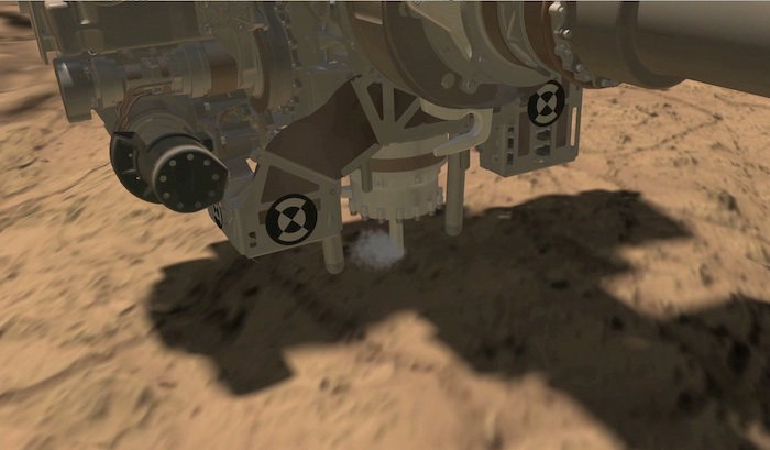 Curiosity Collects First Rock Sample Using Drill