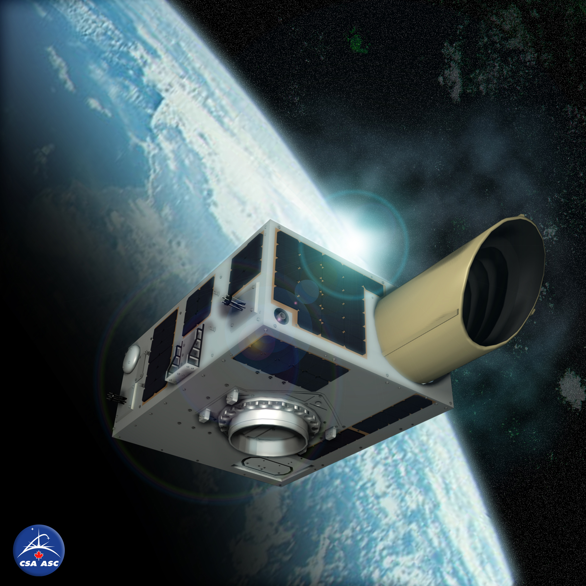 NEOSSAT Asteroid Hunting Satellite