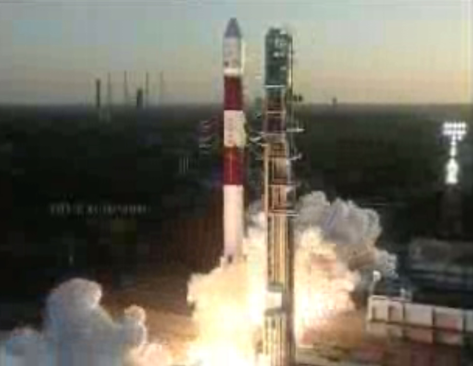 India Launches PSLV Rocket: Feb. 25, 2013