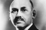 Dr. Robert H. Goddard, the American father of rocketry.
