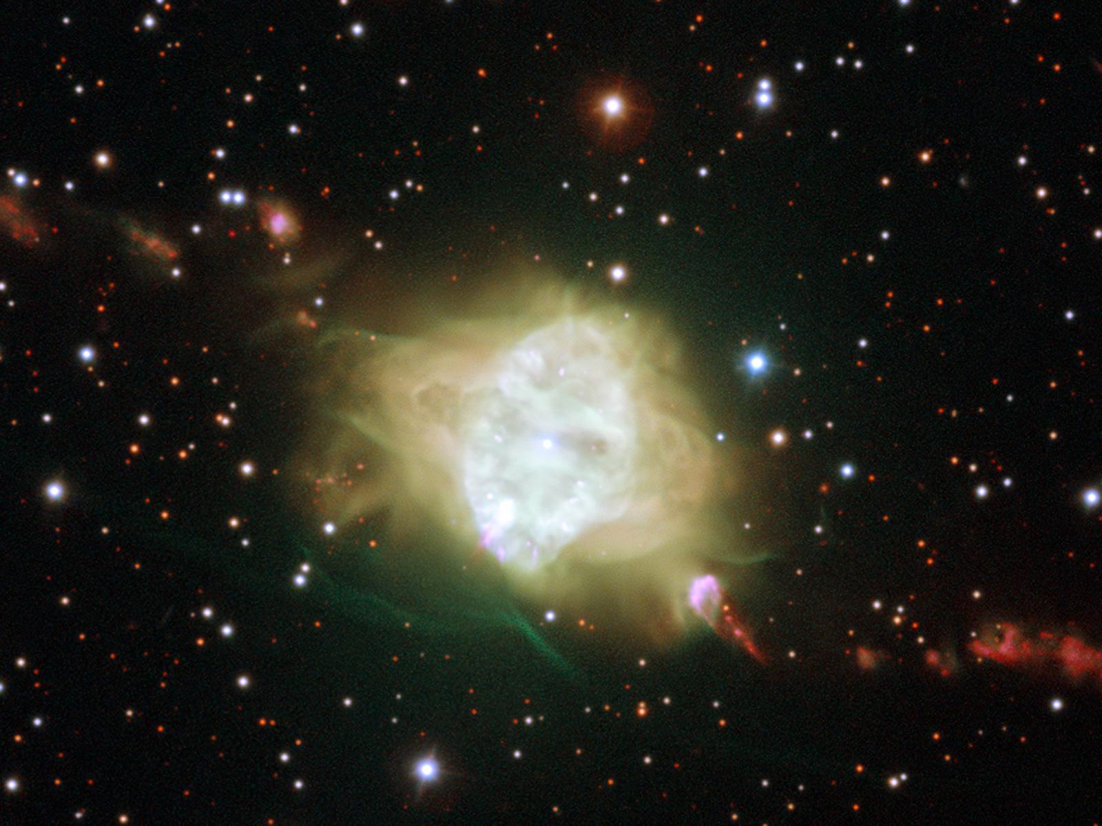 Planetary Nebula Fleming 1 Space Wallpaper