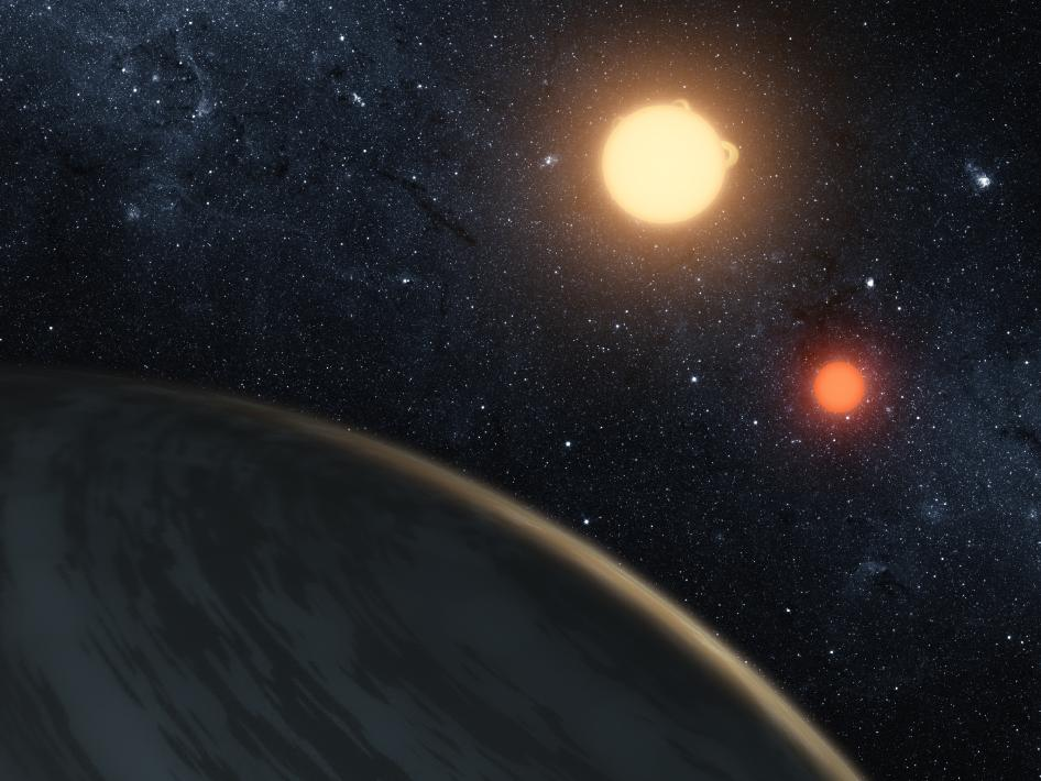 Kepler-16b: The First 'Tatooine Planet'