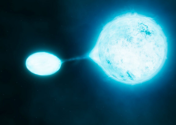 Mergers between stars, the ultimate fate of around 20–30% of O-type stars, are violent events. But even the comparatively gentle scenario of vampire stars, which accounts for a further 40–50% of cases, has profound effects on how these stars evolve.