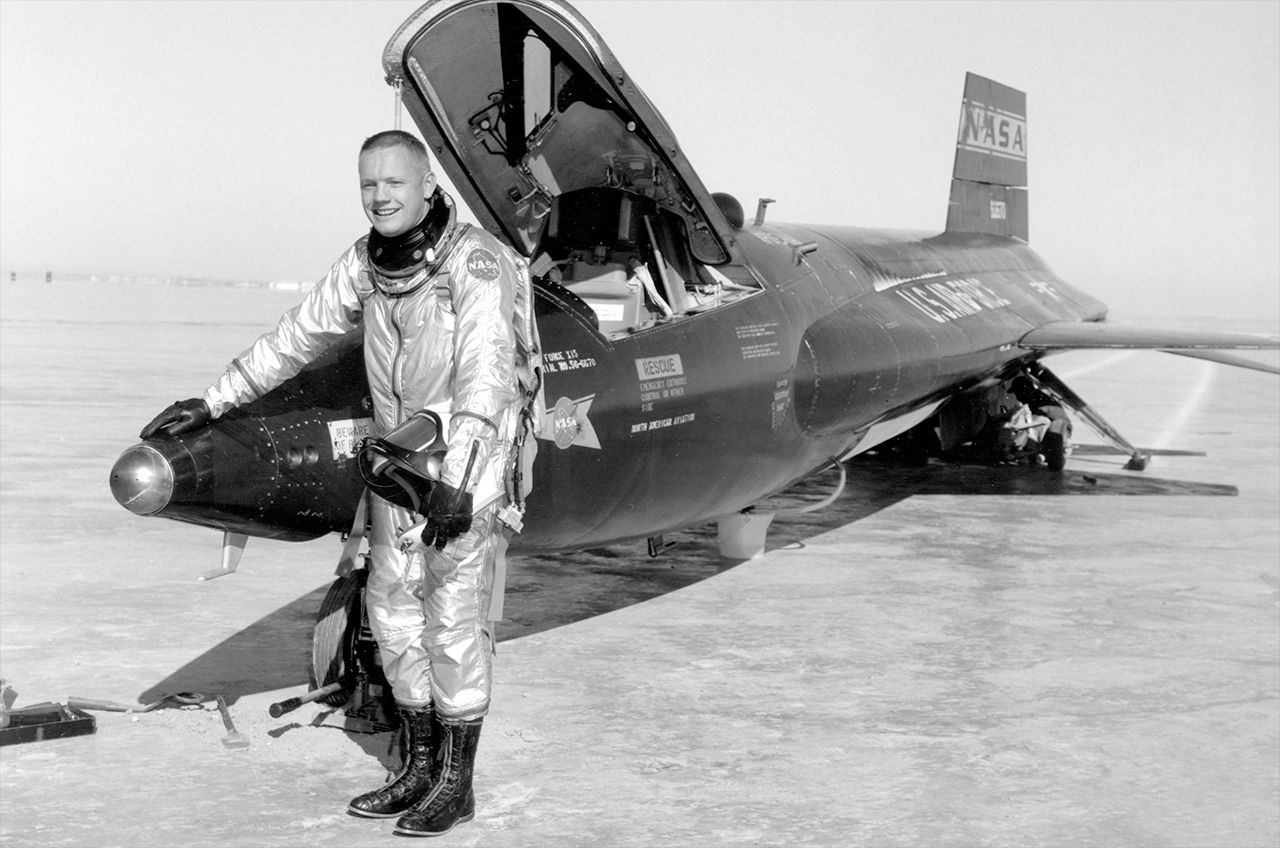 X-15 Rocket Plane & Crew Had the Right Stuff
