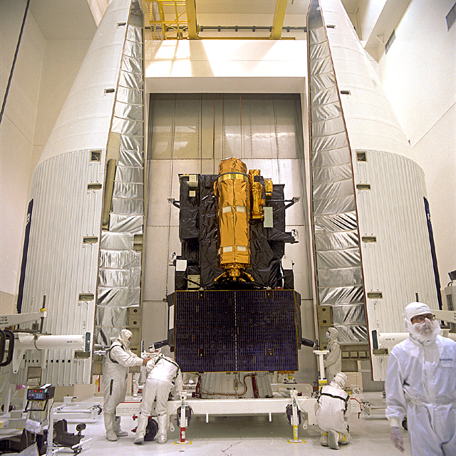 Space History Photo: Solar and Heliospheric Observatory Preparations