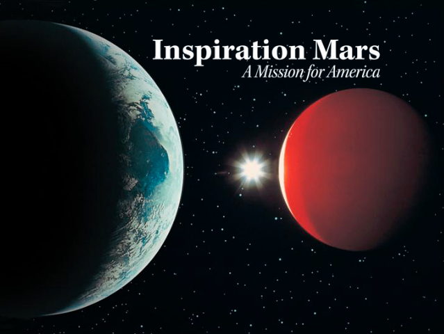 Inspiration Mars Title Card