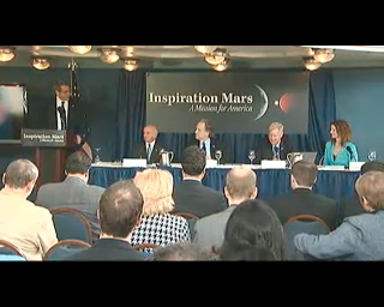 Inspiration Mars Press Conference