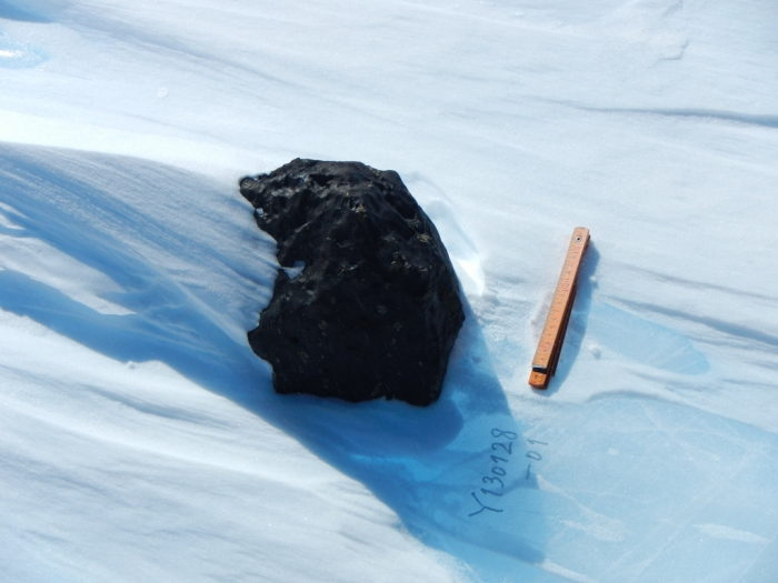 18-Kilogram Meteorite Found in Antarctica