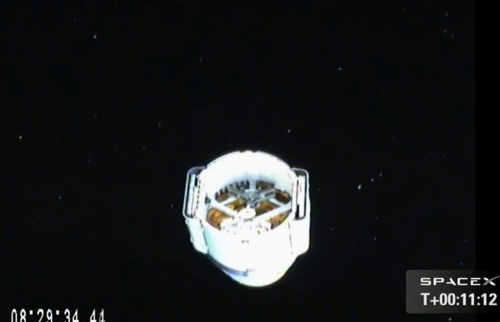 SpaceX Dragon in Orbit: CRS-2 Mission