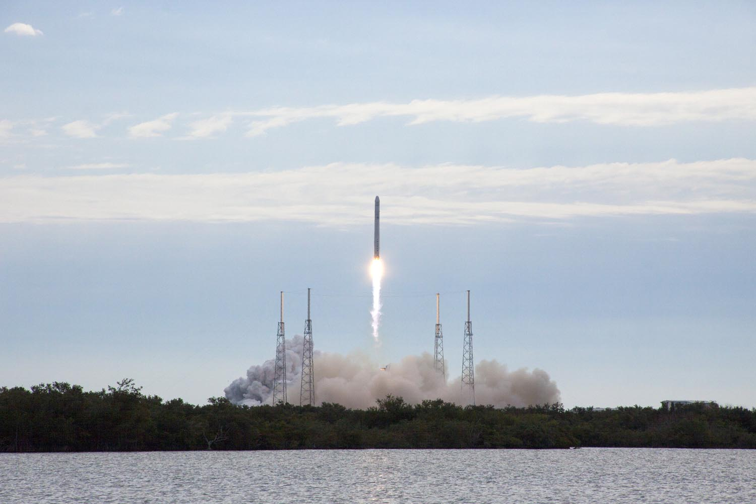 SpaceX Dragon and Falcon 9 Launch: CRS-2