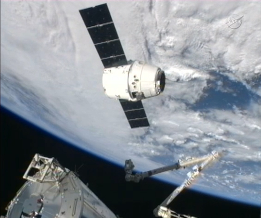 earth dragon from spacex - photo #15