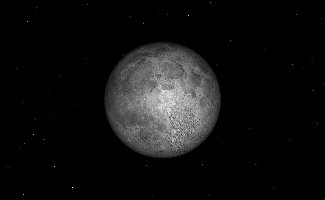 Full Moon, March 27, 2013