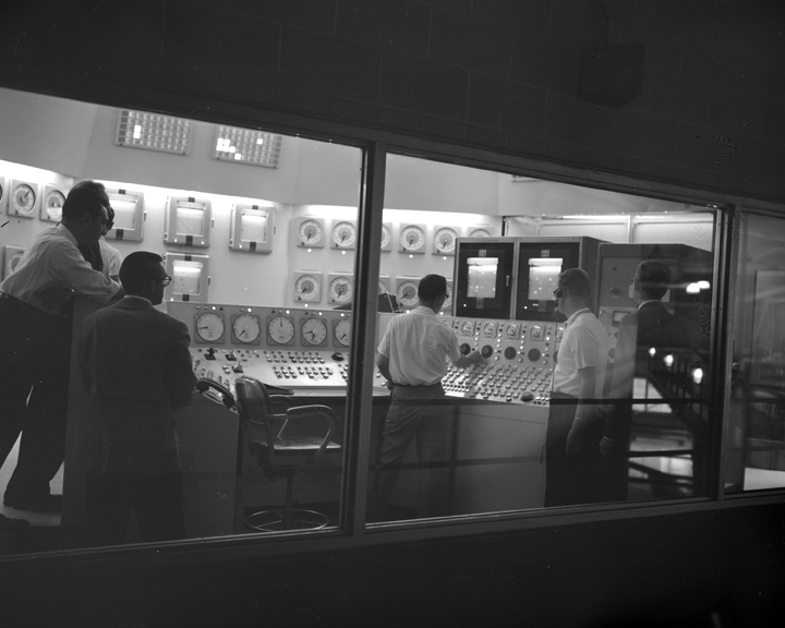 Space History Photo: Harold Geisler Takes Plum Brook Reactor Critical