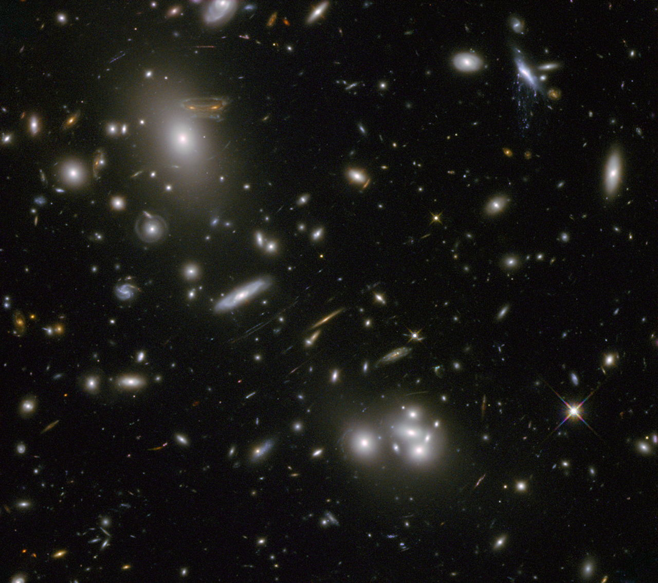 Heritage Image of Galaxy Cluster Abell 68
