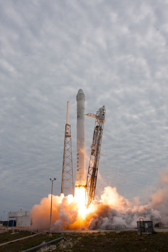 Falcon 9 SpaceX CRS-2 Launch #2