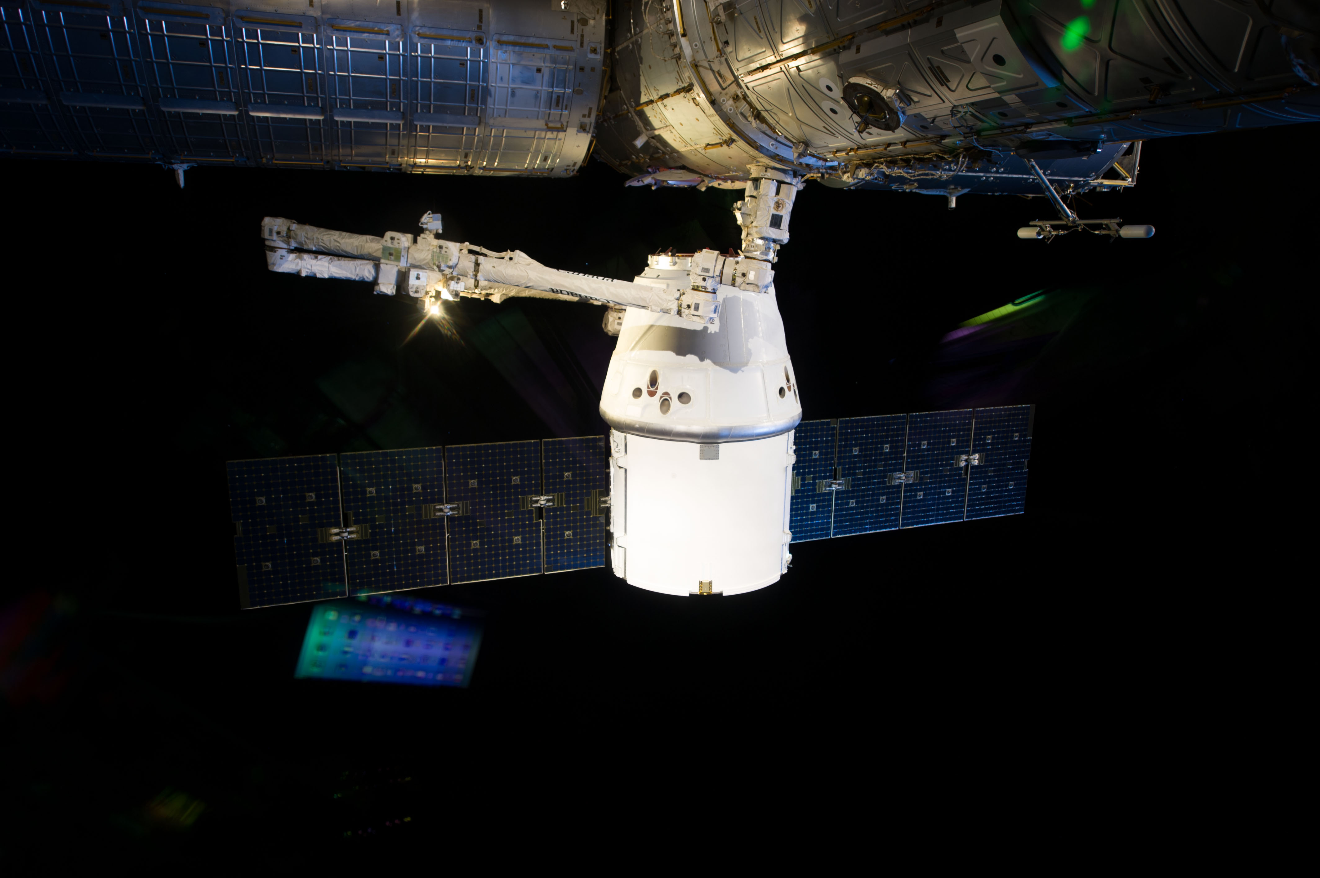 Approach, Capture and Docking of the SpaceX Dragon