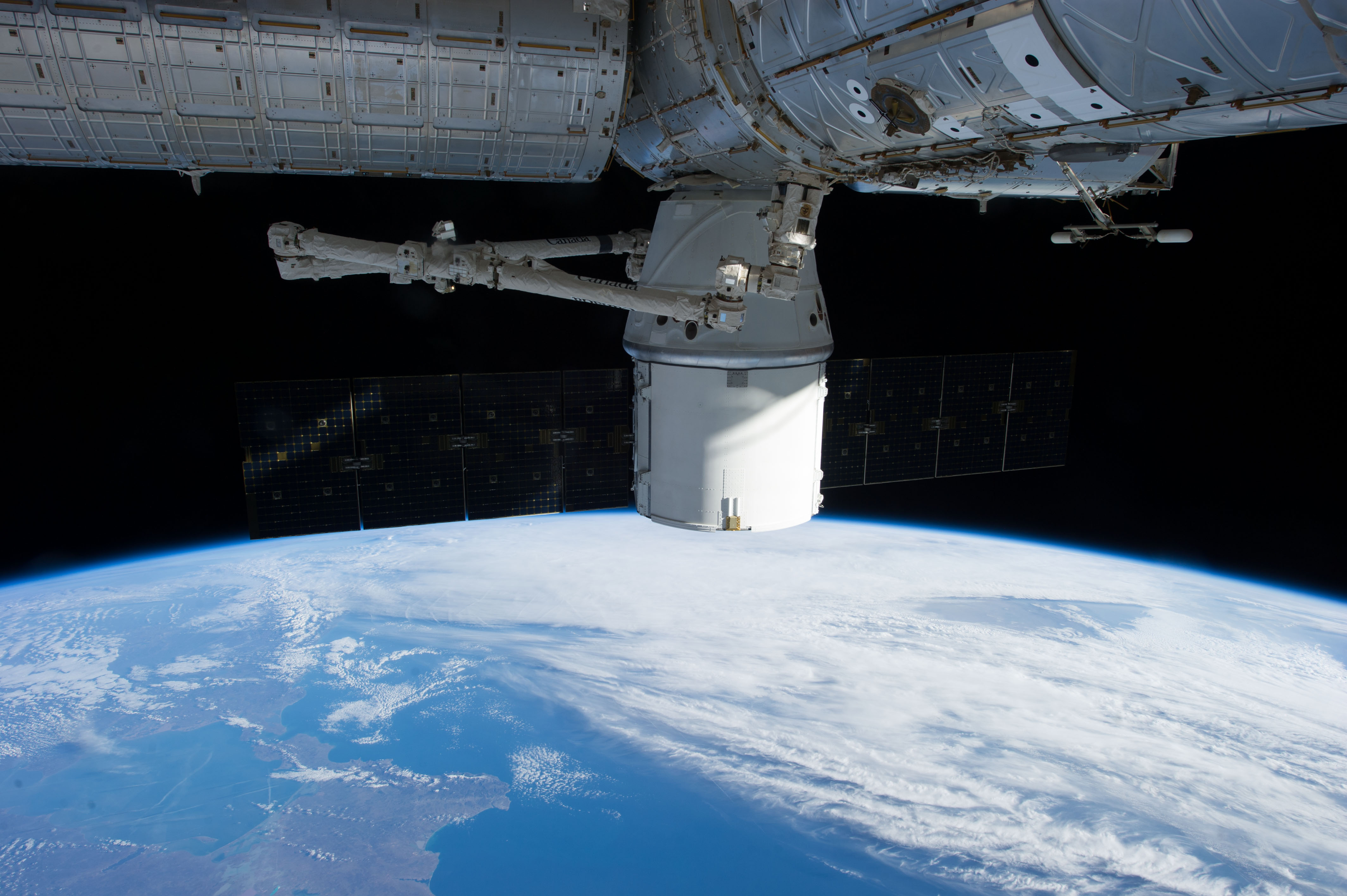 SpaceX Dragon and Space Station