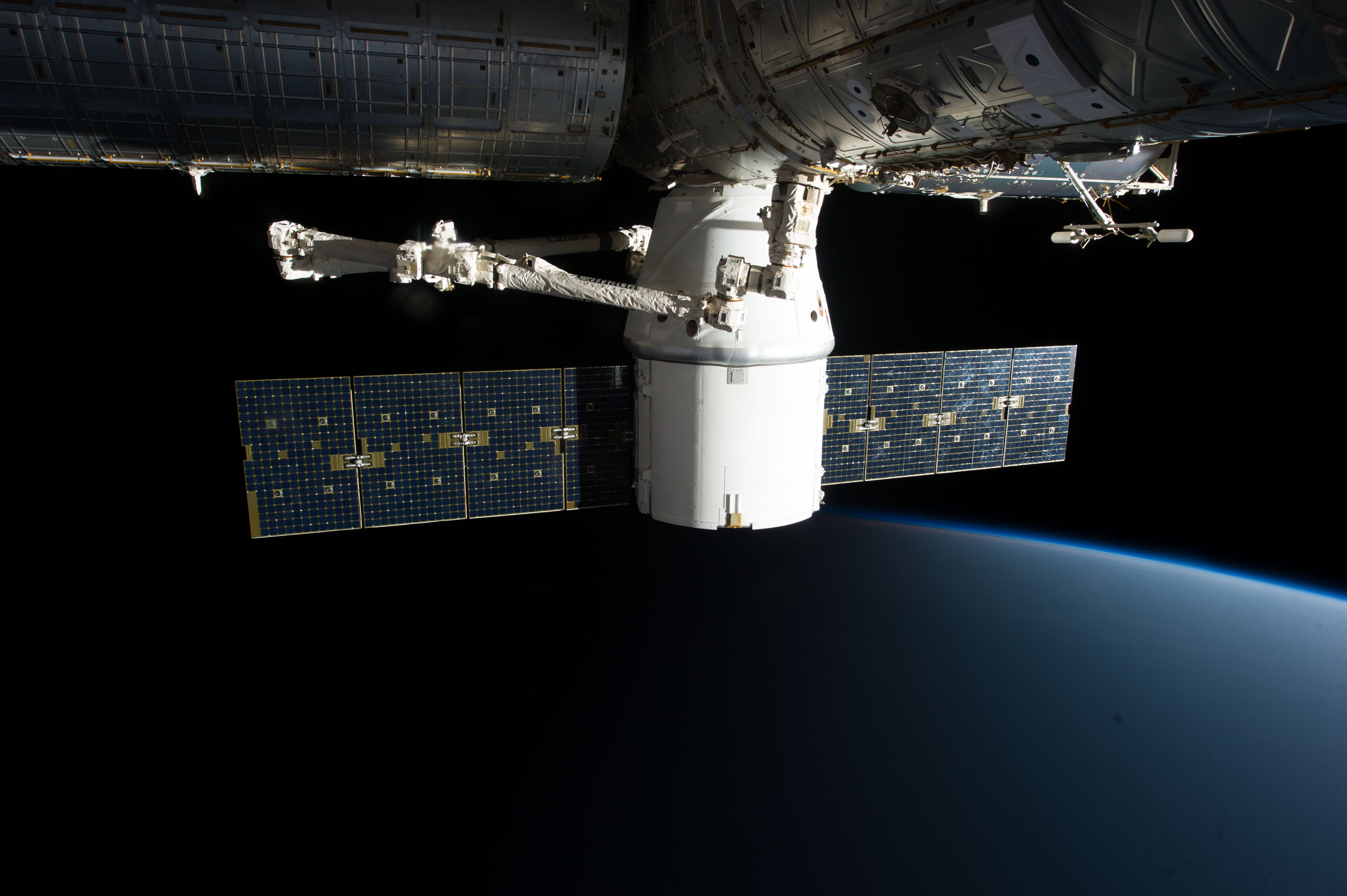 Expedition 34 and SpaceX