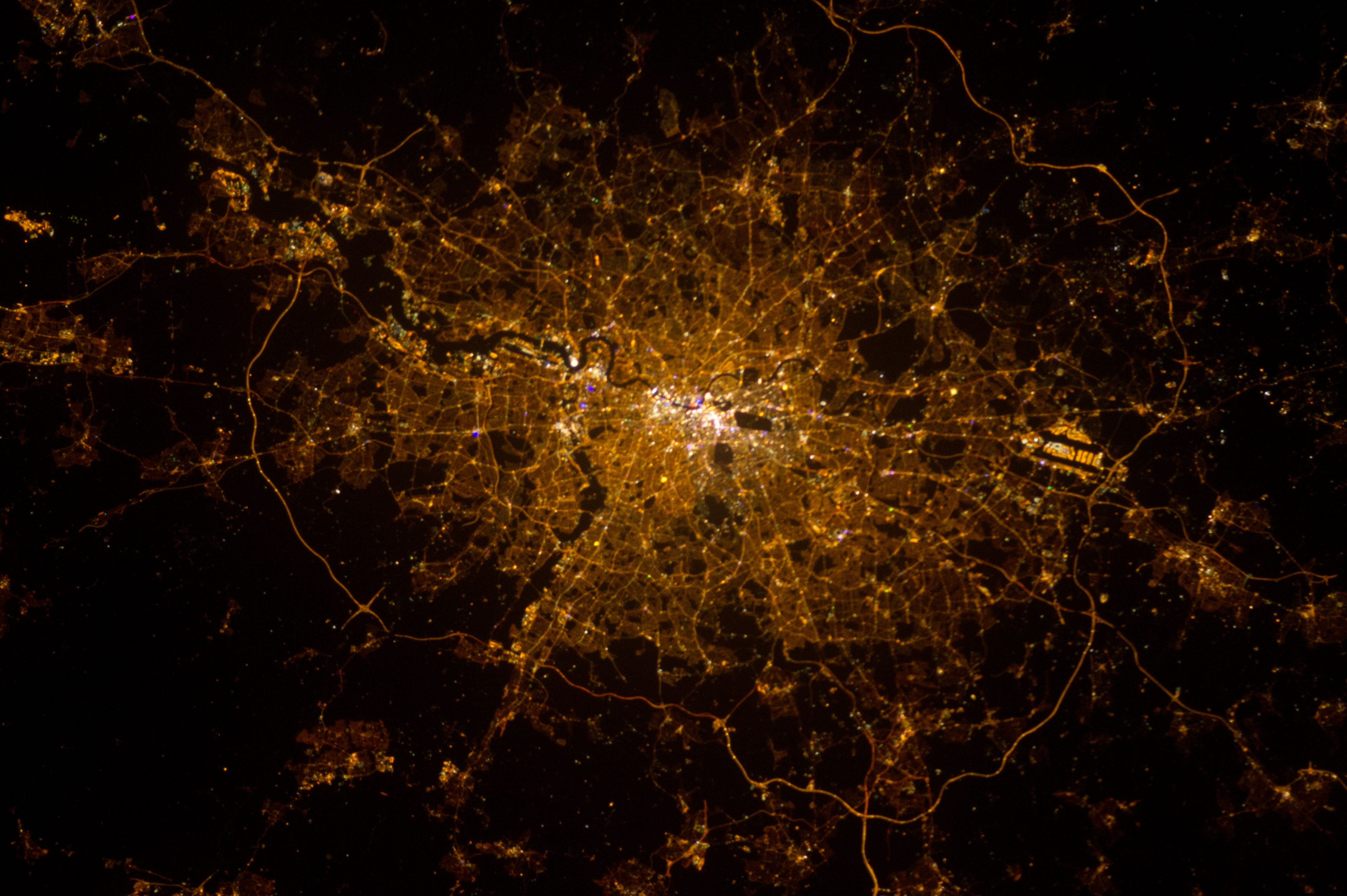 London at Nighttime