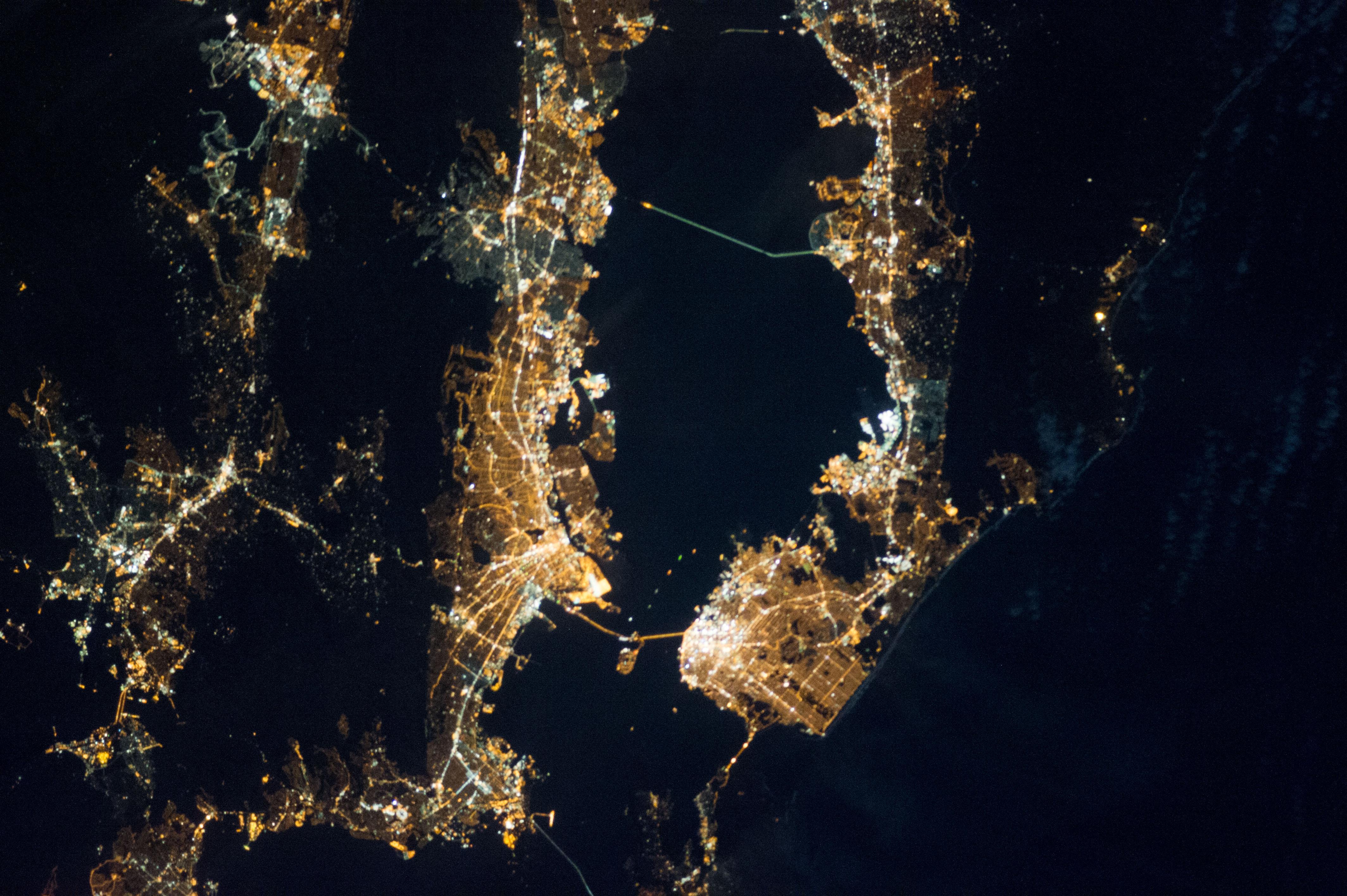 Bay Area at Night