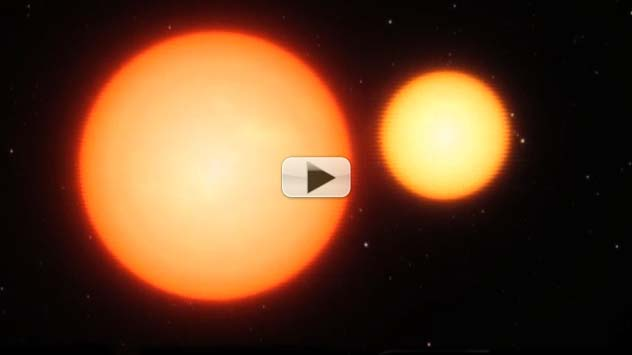 Eclipsing Stars' Light Shift Quantifies Distance To Earth | Video