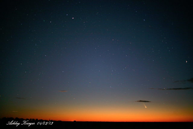 Comets Pan-STARRS and Lemmon Over Australia