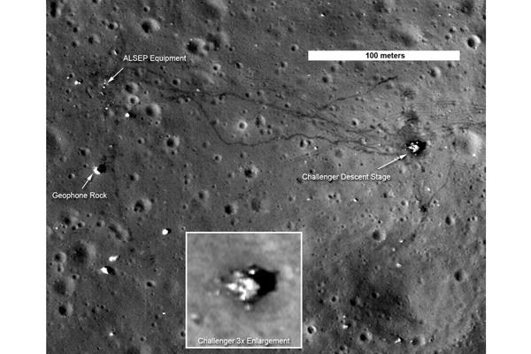 Alien Footprints ... on the Moon?