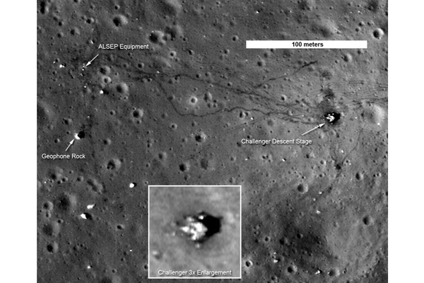 Alien Footprints ... on the Moon?