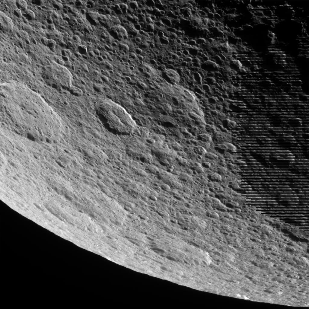 Raw Image of Rhea
