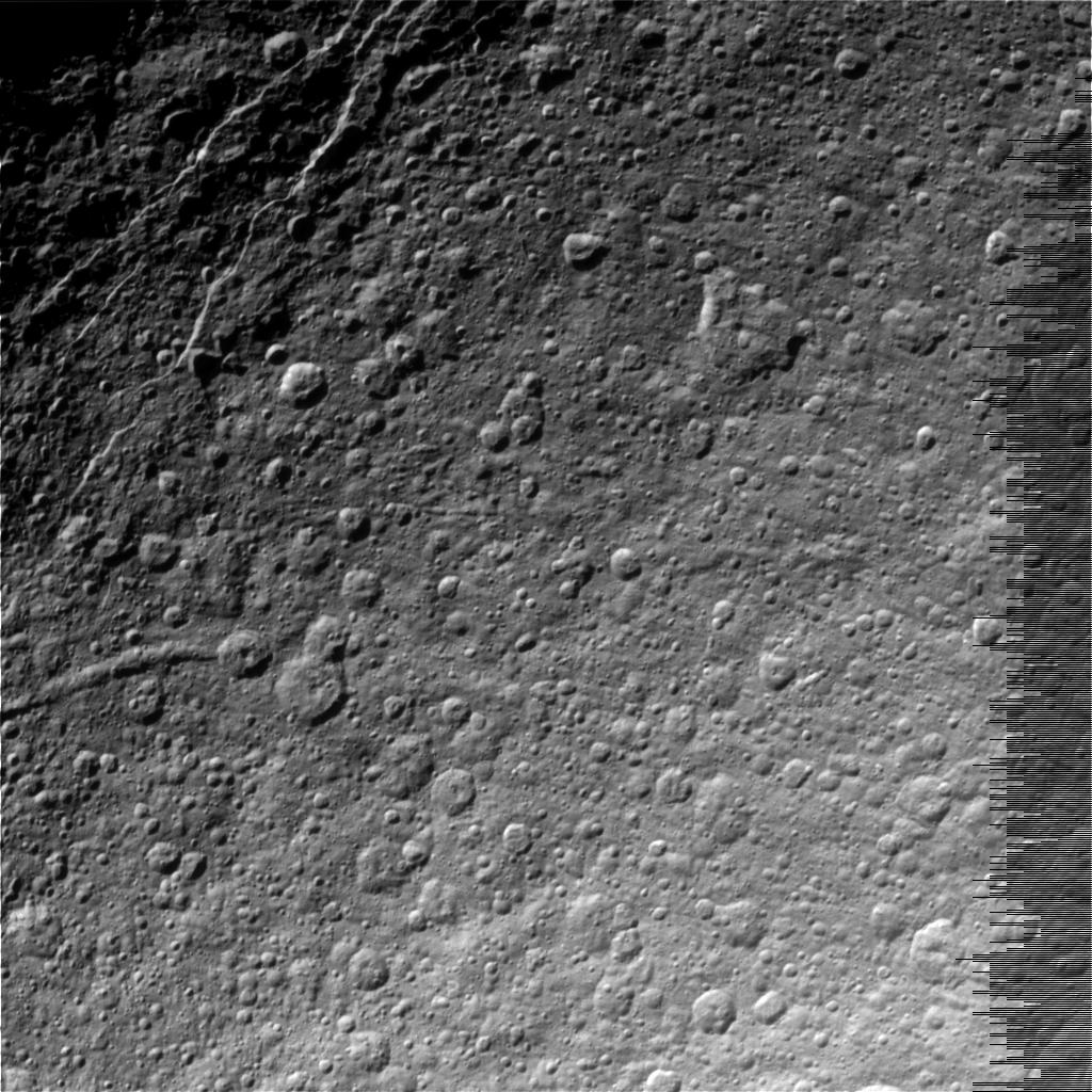 Image of Saturn's Moon Rhea