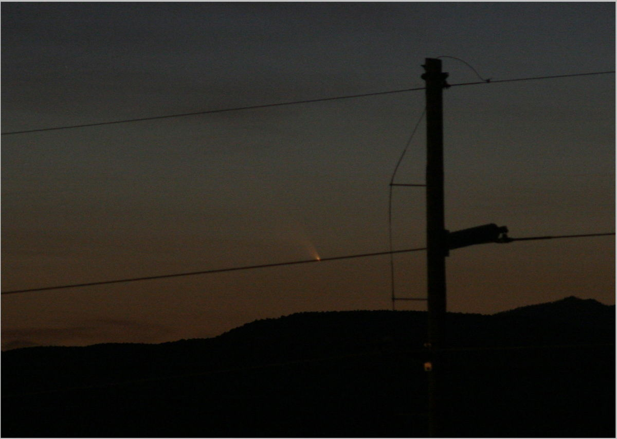 Comet Pan-STARRS Photo by Lipscomb