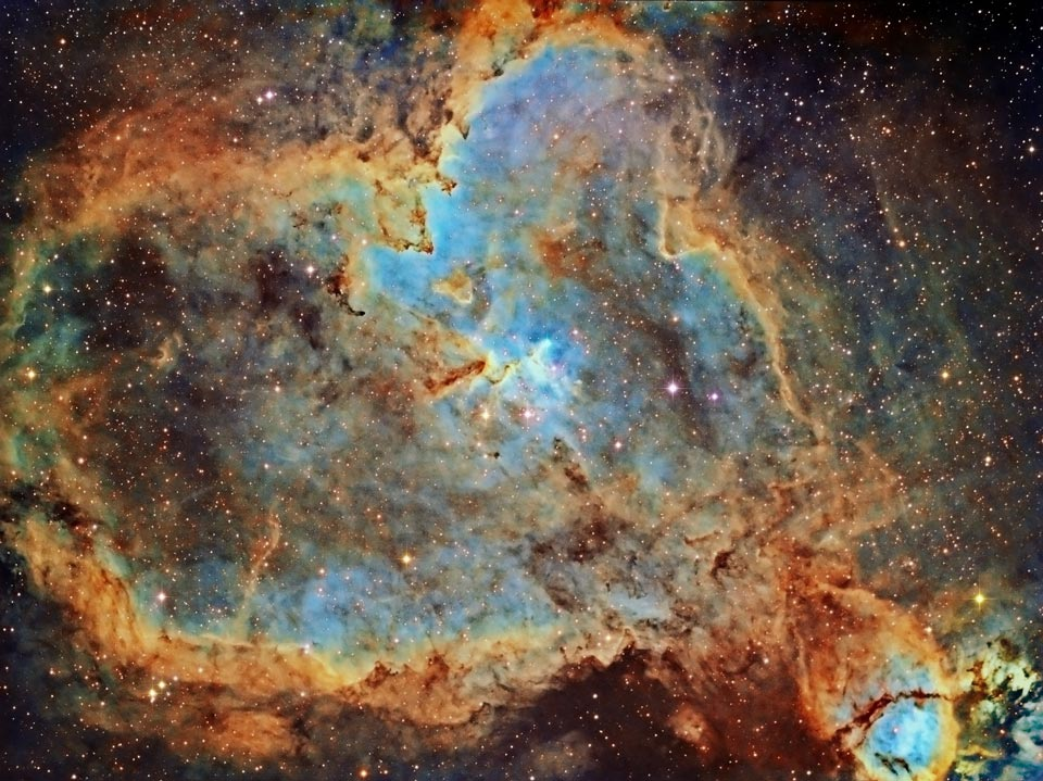 Heart Nebula Wows in Beautiful Night Sky Photo