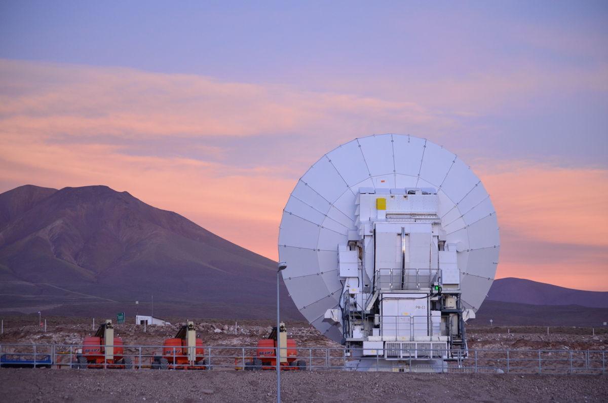 ALMA Telescope Dish