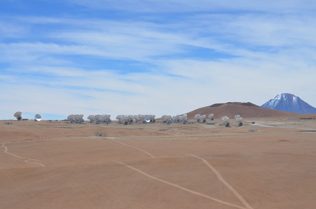 ALMA Telescope Array Grouping