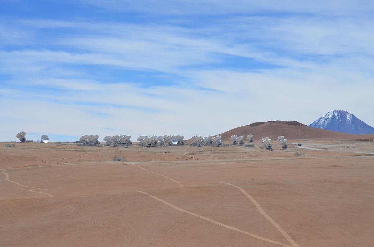 ALMA Telescope Array Grouping