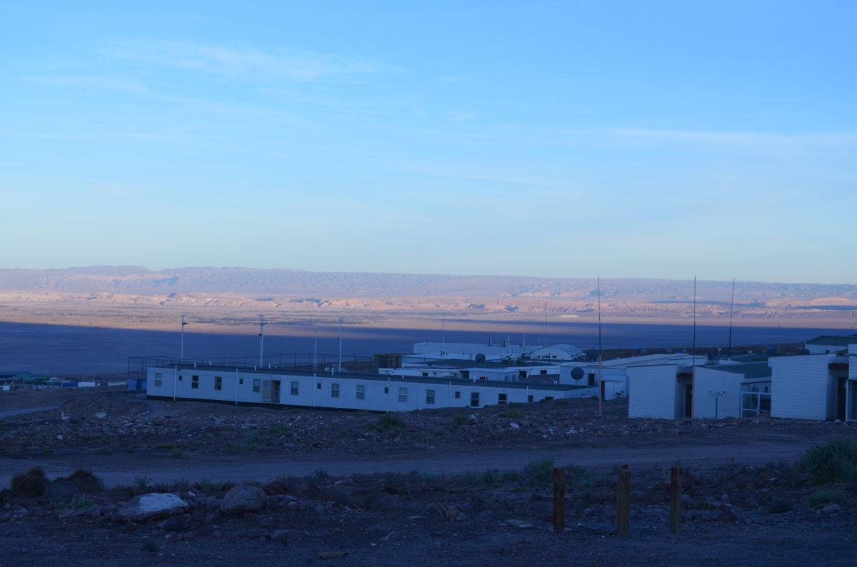 ALMA Operations Support Facility in Chile