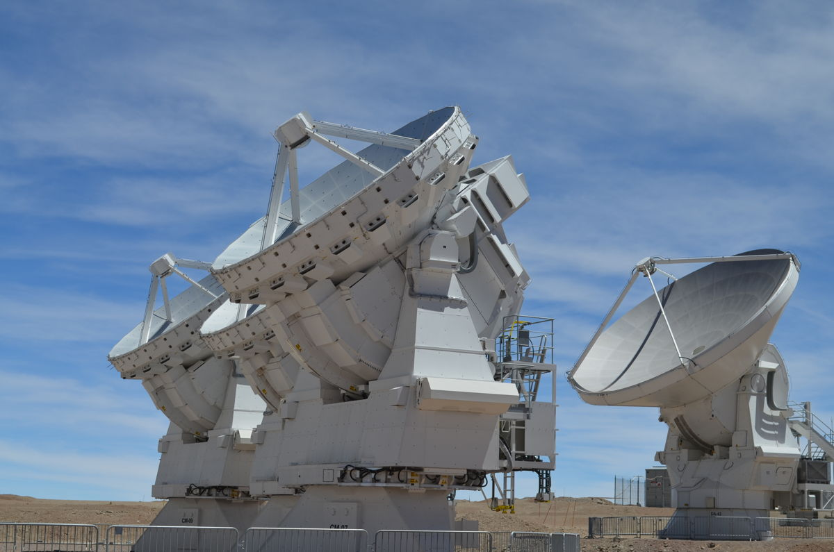 ALMA's Antennas Are Multi-National