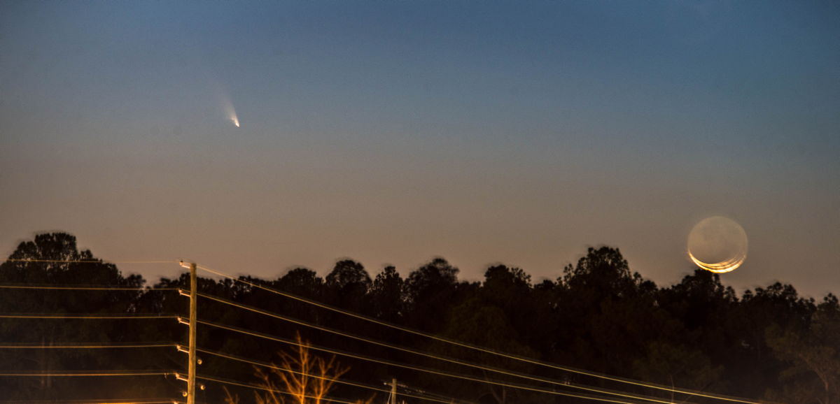 Comet Pan-STARRS Over Buford, GA