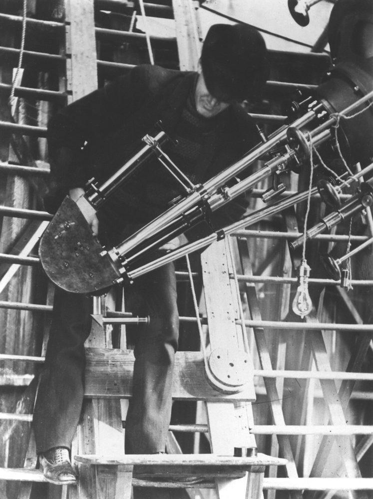 Clark Telescope Detail