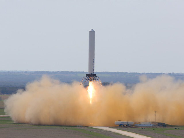 SpaceX's Reusable 'Grasshopper' Rocket Makes Highest Flight Yet