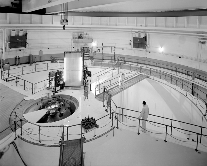 Space History Photo: Lily Pad Area Atop the Reactor Pressure Vessel