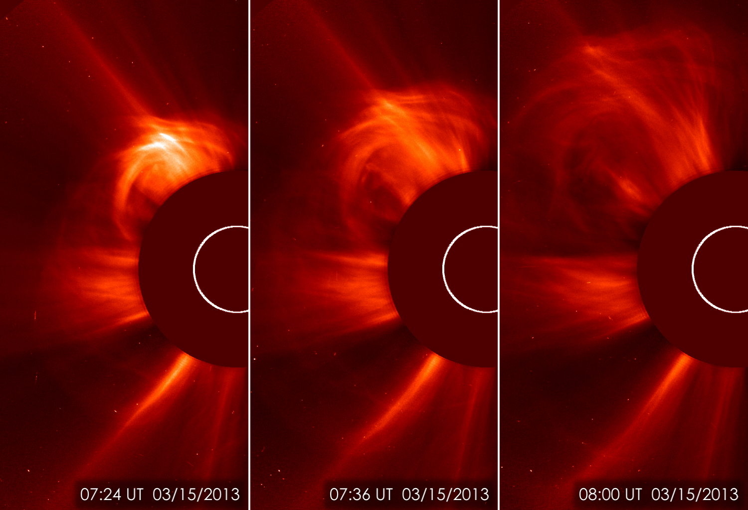 Solar Eruption of March 15, 2013