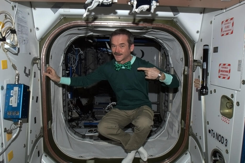 St. Patrick's Day in Space and Chris Hadfield