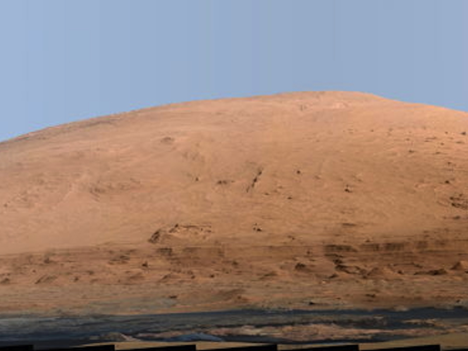 Curiosity Casts Mastcam Magic On Mount Sharp | Space Wallpaper