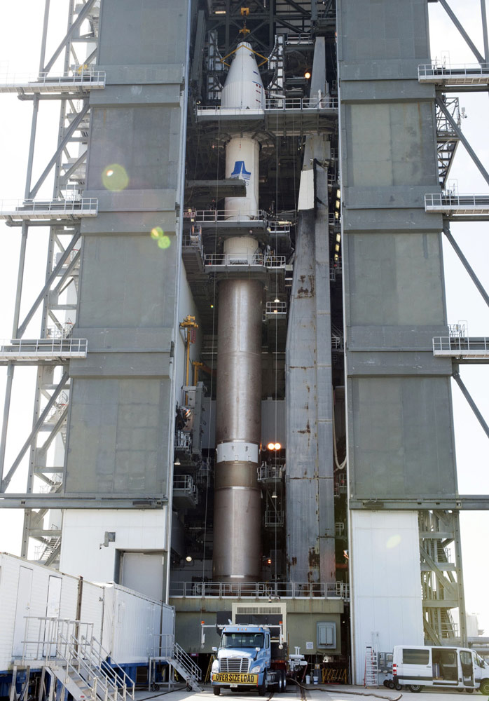 Atlas V Rocket With Air Force SBIRS GEO-2 Satellite